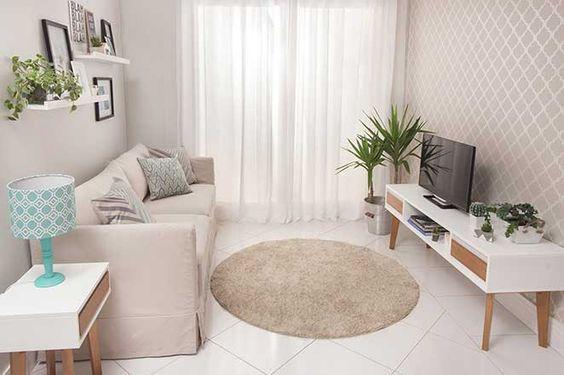sala de estar é uma peça muito importante na nossa casa. É onde nós recebemos as pessoas que nós mais amamos, onde relaxamos e onde curtimos nossas famílias.