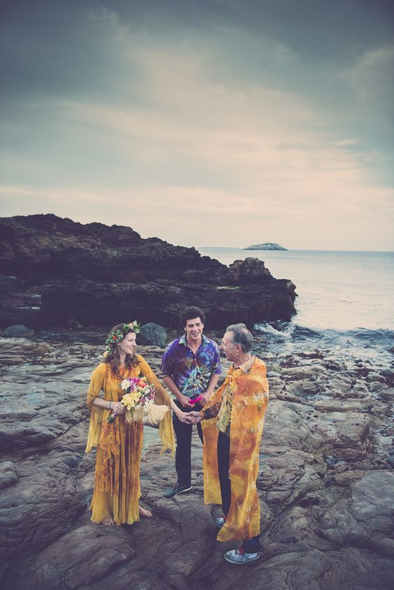 Colorful wedding from Nahant!