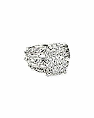 David Yurman Tides Diamond Pave Ring Pave Diamond Ring Womens Jewelry Rings David Yurman Jewelry