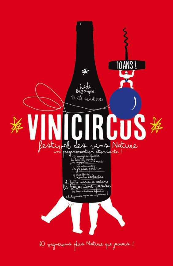Le jardin graphique visuel vinicircus salon des vins for Le jardin graphique
