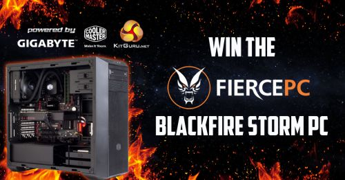 1 Day left - Win a Blackfire Storm Gaming PC - 8/8/16 {WW} via... IFTTT reddit giveaways freebies contests