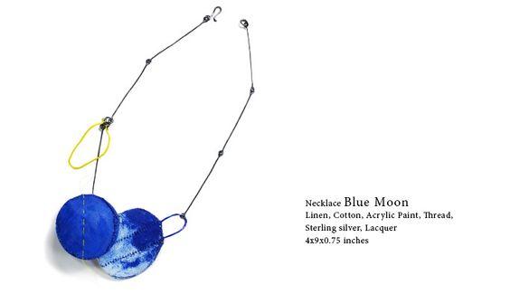 Myung Urso - necklace Blue Moon 2014