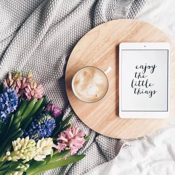 Enjoy the little things ☕️