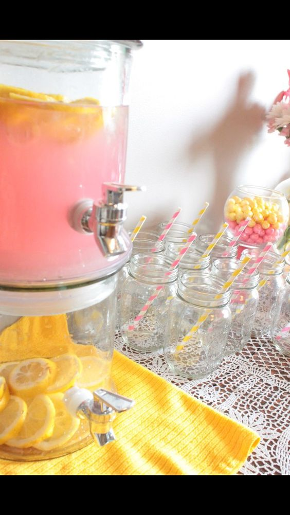 Pink Lemonade themed birthday