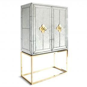 Jonathan Adler Mirrored furniture