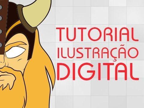 TUTORIAL BASICO ILUSTRAÇÃO DIGITAL