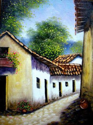 Imágenes Arte Pinturas: Pinturas: Paisajes comerciales al óleo