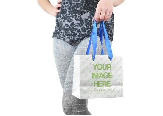 Download Woman Holding Shopping Bag Mockup Generator Product Shopping Gift Present Shopping Bag Logo Company Brand Mockup Template Bag Mockup Shopping Bag Design Bags