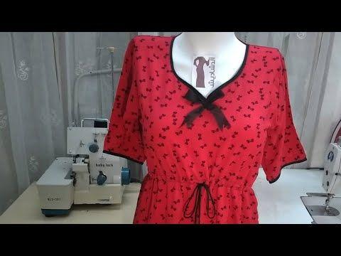 خياطة دشداشة بحزام ابو القيطان تعلم خياطة جلابية نسائية ببساطة Blouse Design Youtube Fashion Tops Women