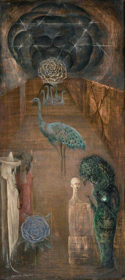 Leonora Carrington (influence on visual style of 'Performance'/Nic Roeg inspired Joe Meek Biopic, provisionally titled SEE YOU IN THE CHARTS)