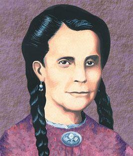 Mariana Bracetti  Patriota y revolucionaria.  Nació en Mayagüez en 1825 y falleció en Añasco, en 1903.  Bordó la primera bandera puertorriqueña.     Patriota rebelde de la gesta del Grito de Lares, conocida como Brazo de Oro, bordó la Bandera de Lares primera enseña de la abortada República de Puerto Rico, en 1868.  El Grito de Lares, inspirado y organizado por el Dr. Ramón Emeterio Betances