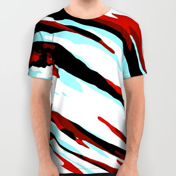 Trippy Panda 9 All Over Print Shirt by HappyMelvin Graphicus | Society6