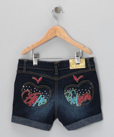 Dark Wash Denim Shorts - Toddler | Denim shorts Love and Apples