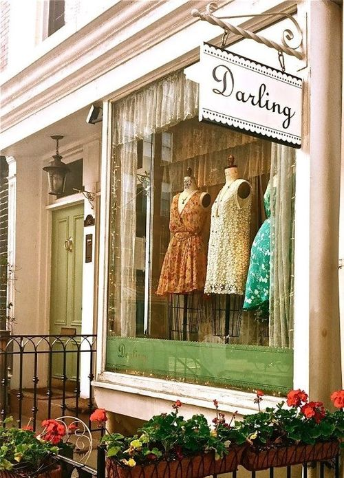Darling, NYC....Darling is a small, West Village shop known for its wide variety of dress options. No matter what the event, from black tie to more casual cocktails, you'll be able to find what you're looking for here. If you're in search of one-of-a-kind pieces, head downstairs for the store's unique, vintage finds. The best part of the Darling experience is that the inventory is updated at least once a week.: