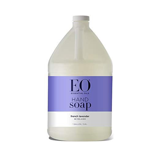 Eo Botanical Liquid Hand Soap Refill French Lavender 128 Fluid