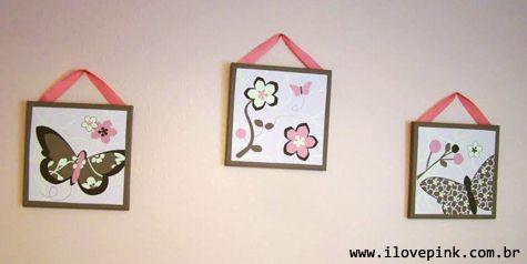 Decoração quarto cor de rosa