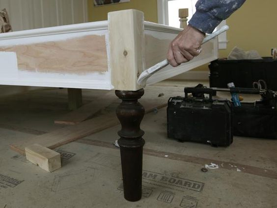 A homemade bedframe that my padre can help me make!! {or make for me}