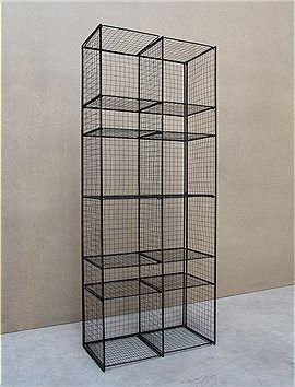 Gitter werden auch oft für die Gestaltung von Möbeln verwendet.