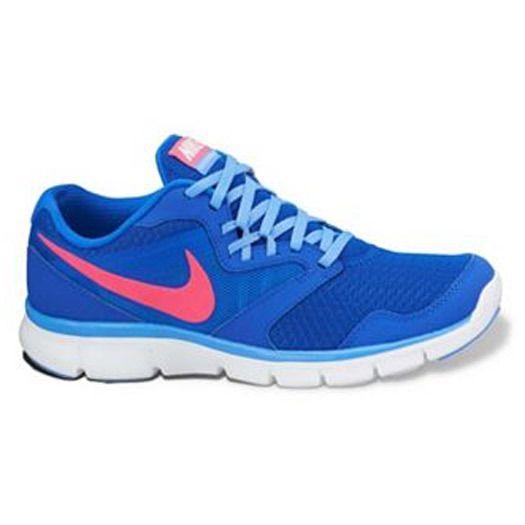 $55 Nike Women's Flex Experience Run 3 Running Shoes - Cobalt Blue/Pink - 6.5 #Nike #RunningCrossTraining