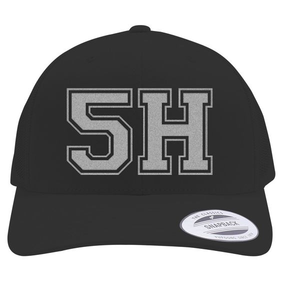 Fifth Harmony Retro Embroidered Trucker Hat