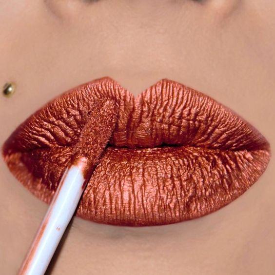 59 Gorgeous lipstick lip makeup ideas