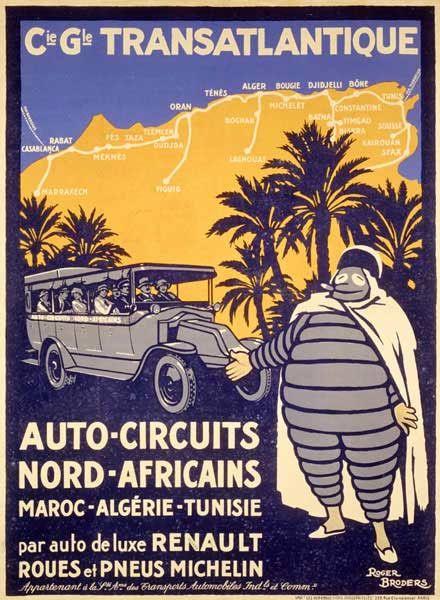 Michelin Man Bibendum Africa: