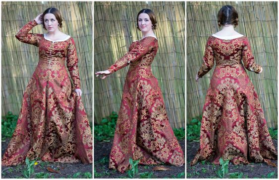 Want to make a pretty and supportive kirtle for your reenactment needs? Look no further, I have what you need here! (Actually, please do further, multiple sources forinformation is totally a thing…
