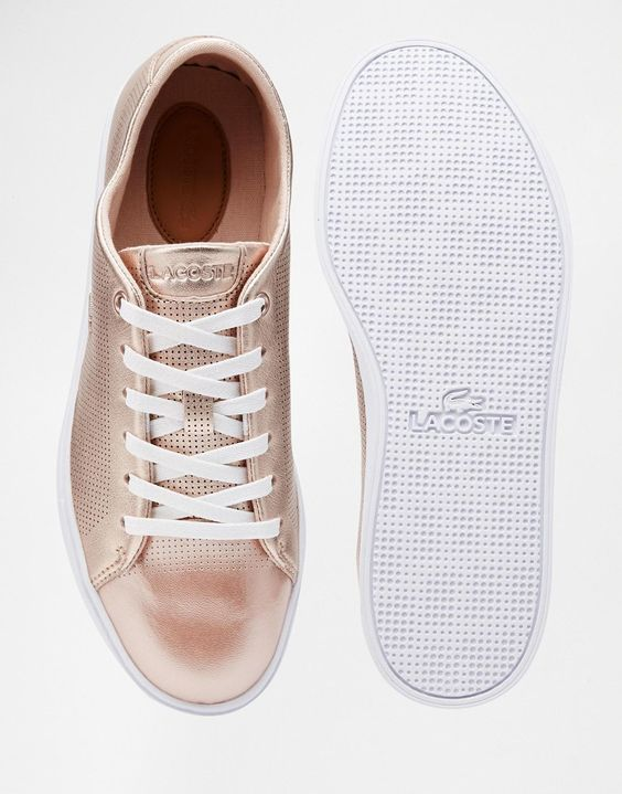 Pale Chaussure Lacoste Or Carnaby Gbfy67 Femme Rose 316 Evo PXTkuOZi
