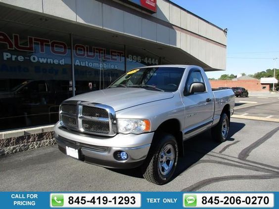 2005 DODGE RAM 1500 PICKUP SLT SILVER 69k miles Call for Price 69612 miles 845-419-1293 Transmission: Automatic  #DODGE #RAM 1500 PICKUP #used #cars #JimmysAutoOutlet #Fishkill #NY #tapcars