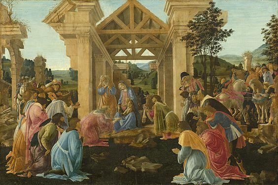Sandro Botticelli The Adoration Of The Magi