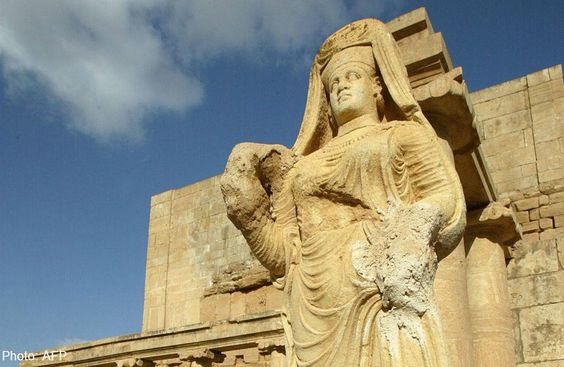 The Lady of Hatra, Mosul, Iraq. via @Ejmalrai on twitter