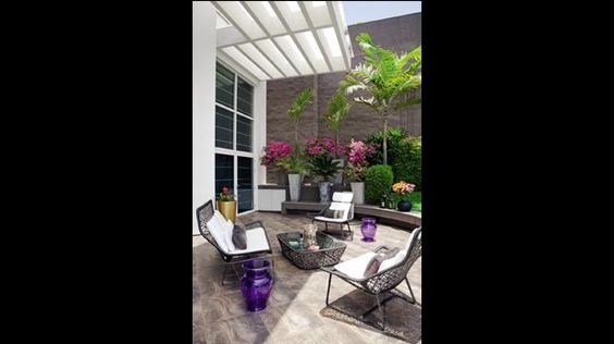 Terraza de verano: descanso al aire libre