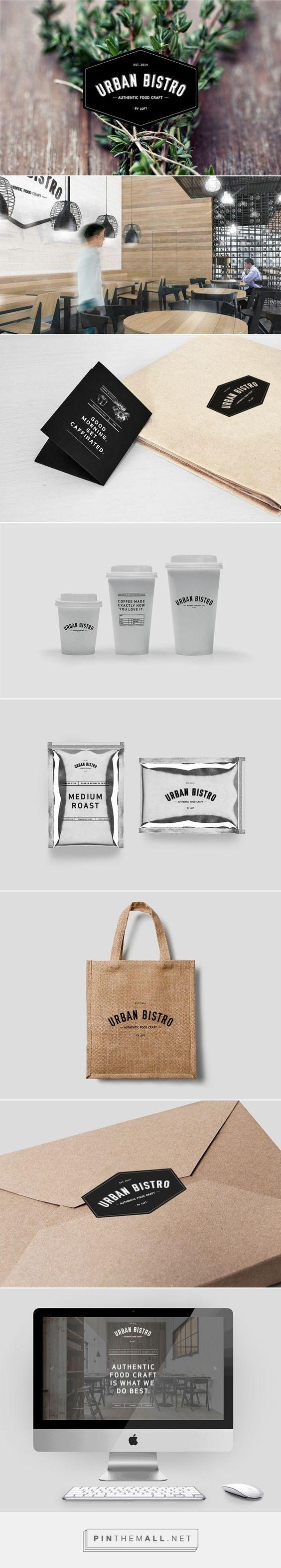 identity / Urban Bistro - Branding by Slash