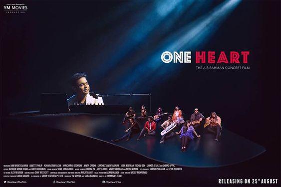 One Heart – The AR Rahman Concert Film Selected for Consonance Music & Dance Film Festival