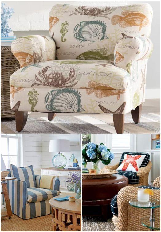 Accent Chair Ideas Coastal Living Designs Styles Coastal Living Design Coastal Living Room Beach House Interior Design