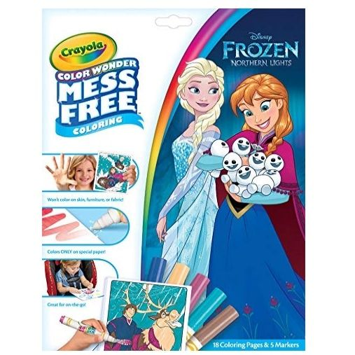 Crayola Color Wonder Mess Free Frozen Coloring Book Markers Now 4 97 Was 7 99 Swaggrabber Frozen Coloring Color Wonder Book Markers