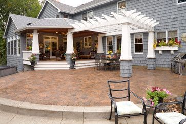 A Yard for Sun and Comfort - traditional - patio - minneapolis - Southview Design