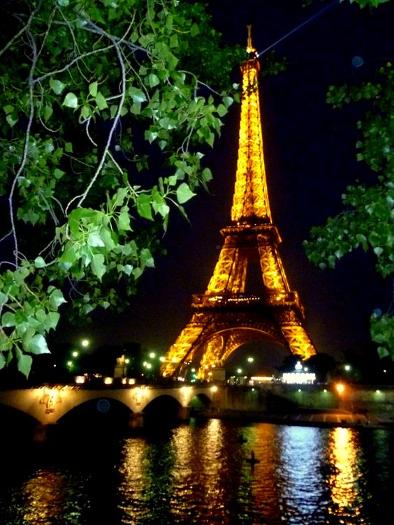 The Eiffel Tour By Night