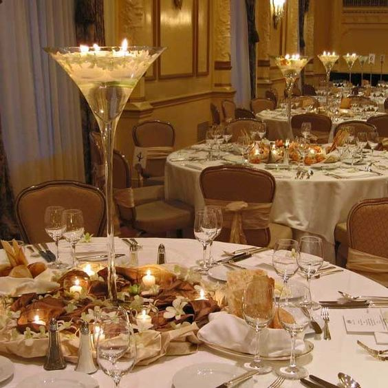 Gold Wedding Centerpiece Decorations: White And Gold Wedding - Google Search