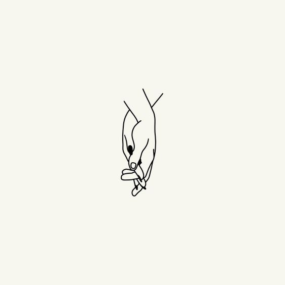 Regards coupables hands illustration art tattoo for Minimal art instagram