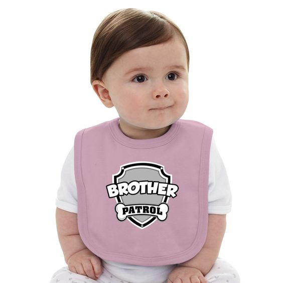BROTHER PATROL Baby Bib