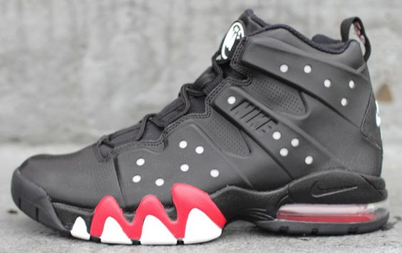 best website 3f768 54740 Nike Air Max Barkley Black University Red The shoes story Pinterest Air ...
