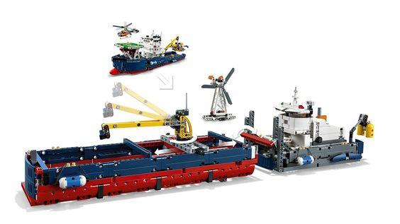 Forschungsschiff 42064 LEGO Technic