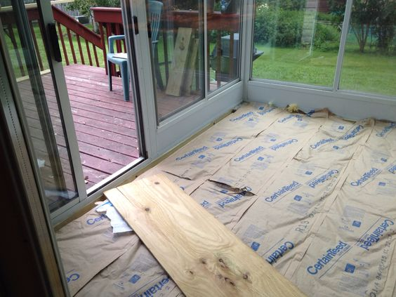 Inspirational Sunroom Floor Insulation