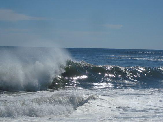 Summer #2012  Ocean waves at Smithpoint Beach  #Longisland