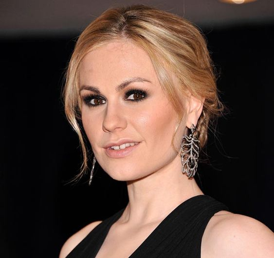 80 And More Updo Hairstyles For 2014: Anna Paquin Updos  #updos #hairstyles #updohairstyles
