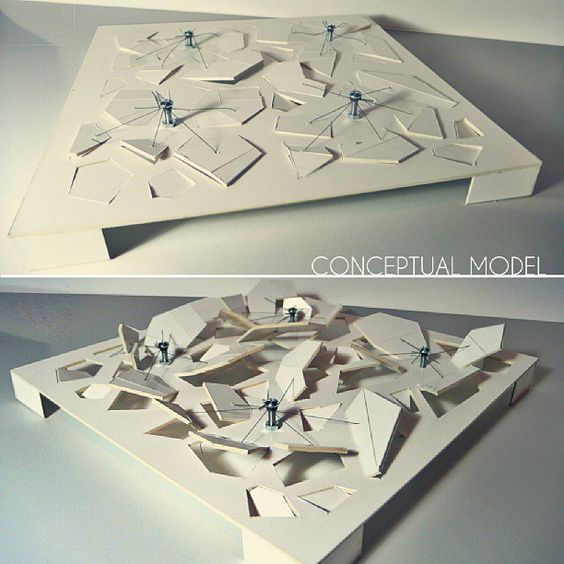 Models on pinterest for Conceptual model architecture