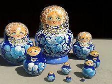 Matrjoschka  babuschka russische Matröschka Holzpuppe puppen