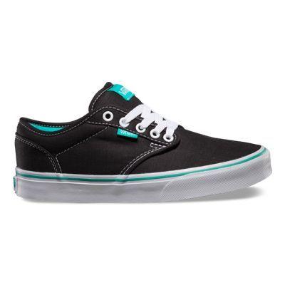 vans atwood black turquoise