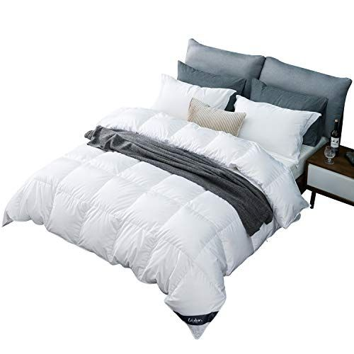 Globon Fusion White Goose Duvet Insert Twin Size All Season 25oz 650 Fill Power 100 Cotton Shell 400 Th Down Comforter Bedding Duvet Comforters Comforters Cozy